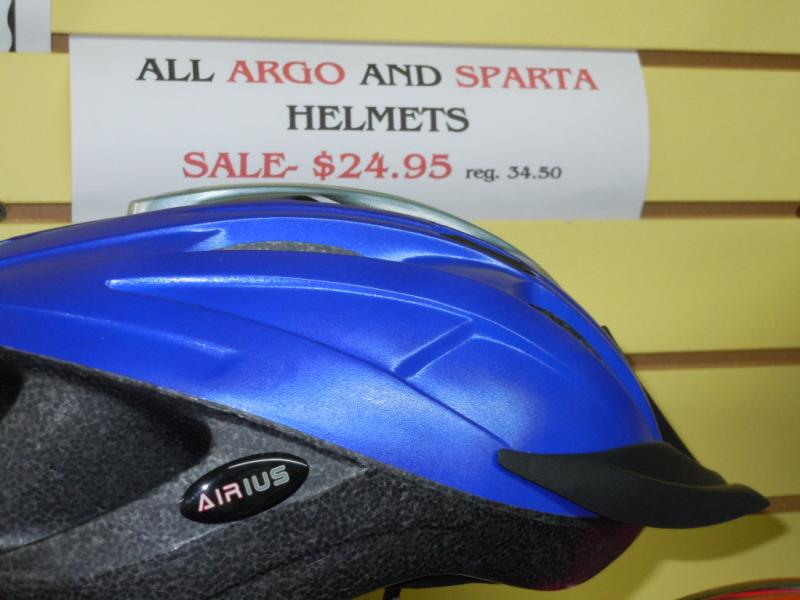 ARGO and SPARTA helmets on sale