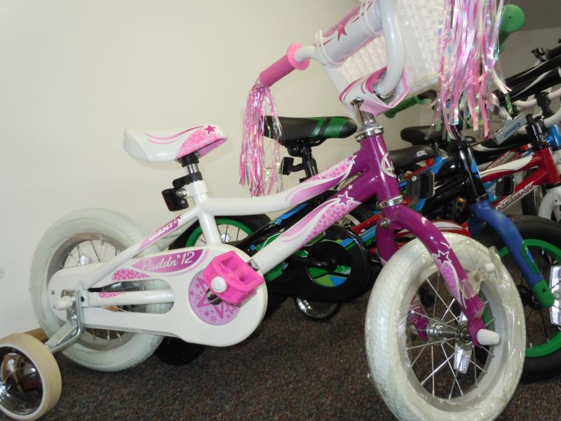 Girls 12 inch sidewalk bike