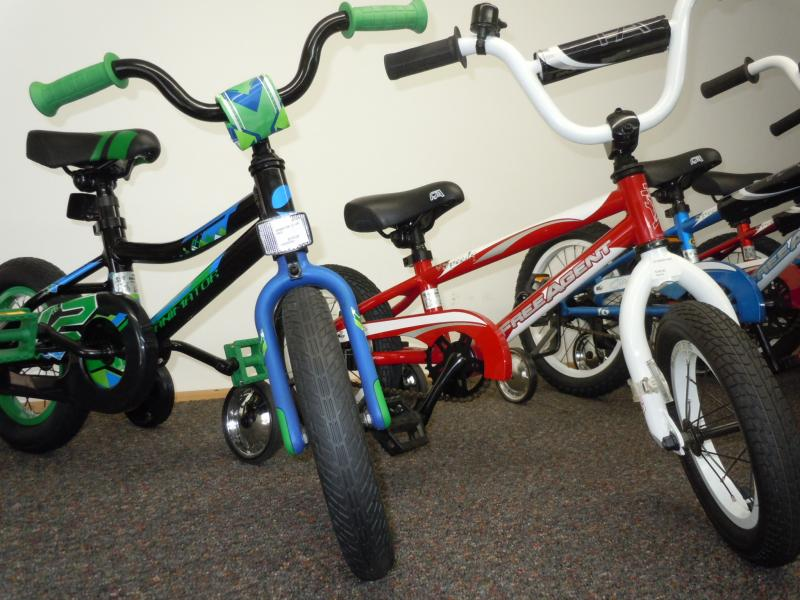 Boys 12 inch wheel sidewalk bike